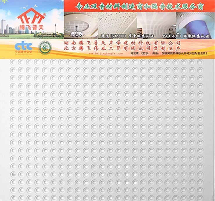 腾飞普天 F028 二十九孔布纹吸音板