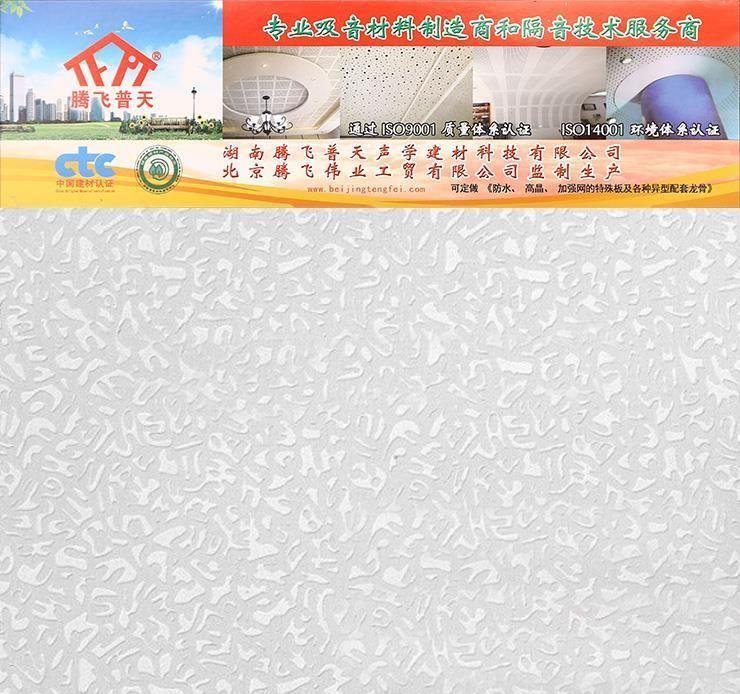 腾飞普天硅酸钙浮雕板 Cr—09